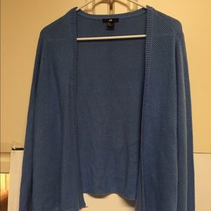 H&M powder blue woman's med sweater